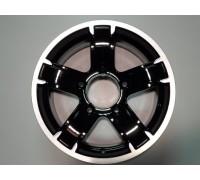 Диск колеса Литой 6.5J15 (5*139,7/98) ET40 К&К Ангара (Алмаз-черный) (5737)
