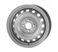 Диск колеса 5.5J14 (4*98/58,6) ET35 'ТЗСК' ВАЗ 2112 серебро