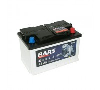 Аккумулятор BARS Silver (Gold) 6СТ-75 (77) О/П низк.