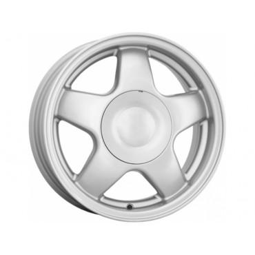Диск колеса Литой 5.5J14 (4*98/58,6) ET35 К&K 5 спиц сильвер (КС189-01) Распродажа!