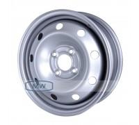 Диск колеса 5.5J14 (4*100/60,1) ЕТ43 'MAGNETTO'Renault Silver