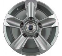 Диск колеса Литой 7.0J16 (5*139,7/108,5) ET35 K&K Тор Дарк платинум (KC694)