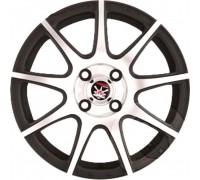 Диск колеса Литой 6.5J16 (5*114,3/66,1) ET50 К&K YAMATO Segun Asikaga Esinori Black Briliant спец.кр