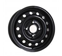 Диск колеса 5.5J14 (4*98/58,6) ET35 'ТЗСК' ВАЗ 2112  черный-глянец