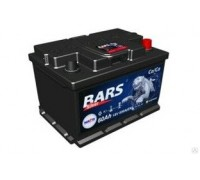 Аккумулятор BARS Silver (Gold) 6СТ-60 (62) О/П низк.