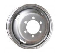 Диск колеса 5.5J16 (6*170/130) ET106 'ТЗСК' ГАЗ-3302 ГАЗель металлик