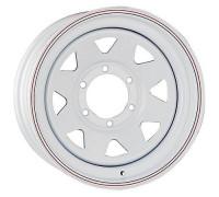 Диск колеса 8.0J15 (6*139.7/110) ЕТ19 'R-STEEL' White А17 АКЦИЯ %