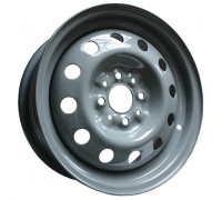Диск колеса 5.5J14 (4*98/58,6) ET35 'MEFRO'/'ACCURIDE' ВАЗ-2110-12, 1117-19, 2190 серо-зеленый