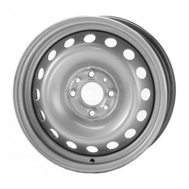 Диск колеса 6.0J15 (5*139,7/98,5) ЕТ40 'ТЗСК'  ВАЗ-2123 Шеви-Нива серебро