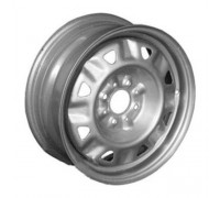 Диск колеса 5.0J13 (4*98/58,6) ЕТ35 'ГАЗ' ВАЗ-2108-2115 треуг.отверстия серебристый