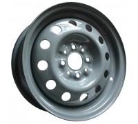 Диск колеса 5.5J14 (4*98/58,6) ET35 'MEFRO' ВАЗ-2110-12, 1117-19, 2190 серо-зеленый