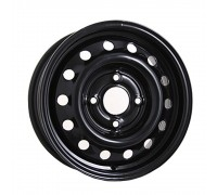 Диск колеса 5.0J13 (4*98/60,5) ЕТ29 'MEFRO' ВАЗ-2103-07 черный