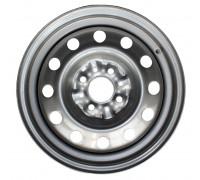 Диск колеса 5.5J14 (4*98/58,6) ET35 'MEFRO'/'ACCURIDE' ВАЗ-2110-12, 1117-19, 2190 серебро